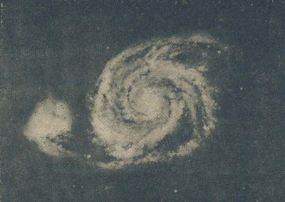 Trou noir: photo anonyme, vieux magazine, astronomie, taoïsme, vide, féminin.