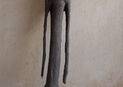 Statuette bois: Afrique, Togo, statuette, Vaudou, Moba.